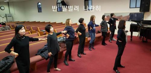 여성교회 성탄 준비2